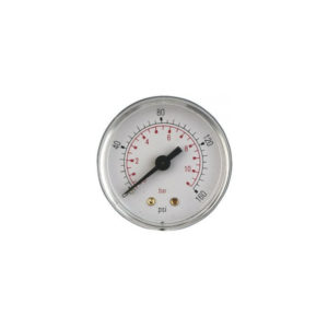 50mm Plastic Rear Entry Pressure Gauge