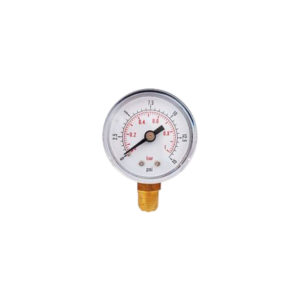 50mm Plastic side entry 1/4 Pressure Gauge