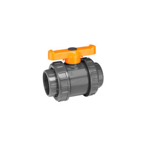 Automat Double Union PVC Ball Valves