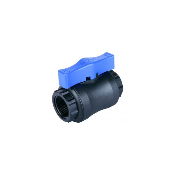 Hansen Ball Valve Blue Handle Product Image