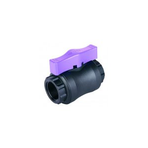 Hansen Ball Valve Lilac Handle Product Image