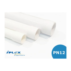 PN12 PVC Pipe - Socket One End 50mm - 80mm