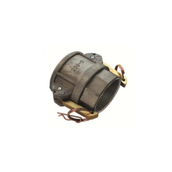 Type D Camlock Fittings BSPF x Female Coupler