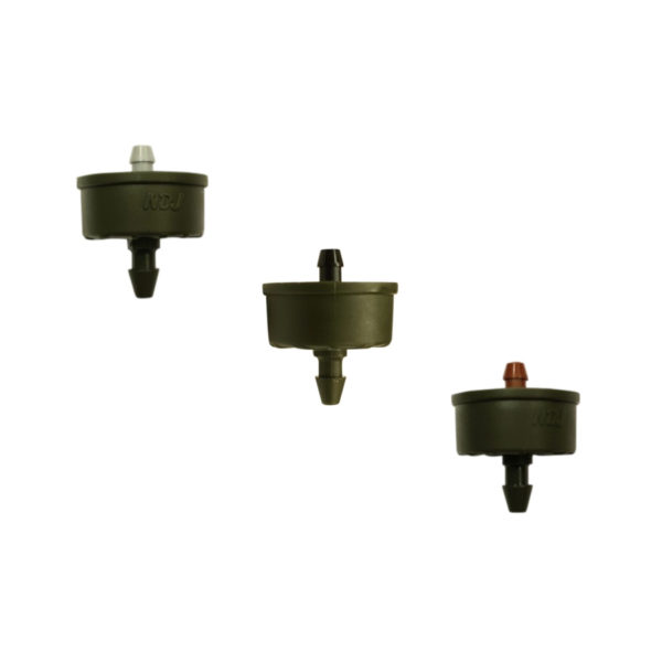 ClickTif PC Button Drippers with Barbed Outlet