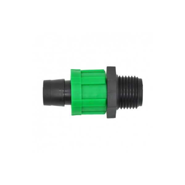 16mm Drip Tape with 15mm Male Thread Coupling