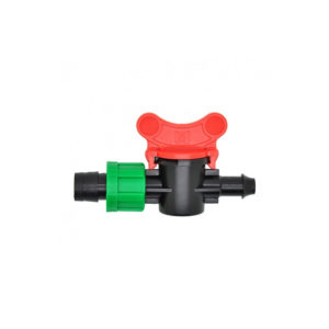 16mm Drip Tape Valve with 8mm take off