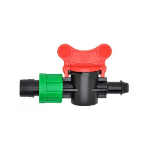 16mm Drip Tape Valve with 13mm Barb