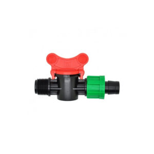 16mm Drip Tape Valve with 15mm Male Thread