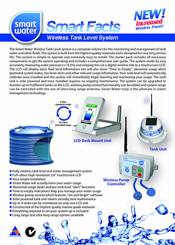 Desk Mounted Tank Level Controllers Brochure
