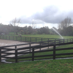 Horse arena irrigation design page hero image